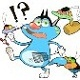 Phim hoạt hình mèo Oggy tập 12: Xác ướp ai cập.