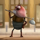 Xem phim hoạt hình Java - Con bọ hôi hám