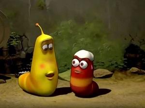Hoạt hình Larva: Ăn kem