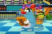 Phim hoạt hình Oggy tập 94: Khí Gây Cười